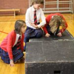 Year 6 Drama at The Abbey: The Nativity Story in a series of freeze-frames